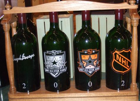 Image: wine bottles