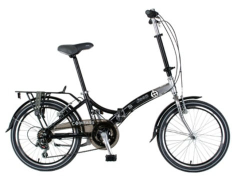 Image: Jeep Compass folding bike