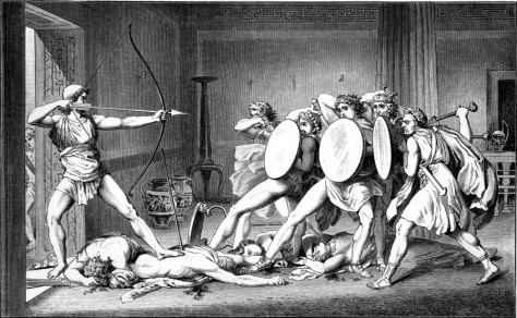 Image: Slaughter of the Suitors