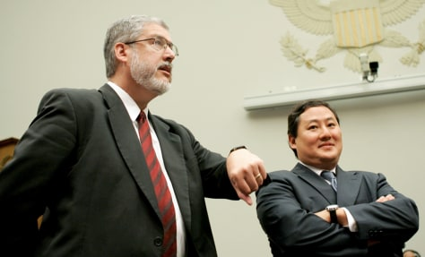 David Addington, John Yoo
