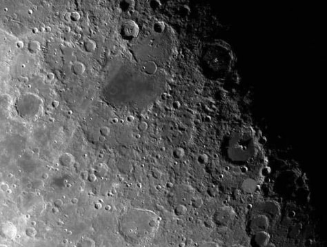 Image: Moon is scarred with ancient craters