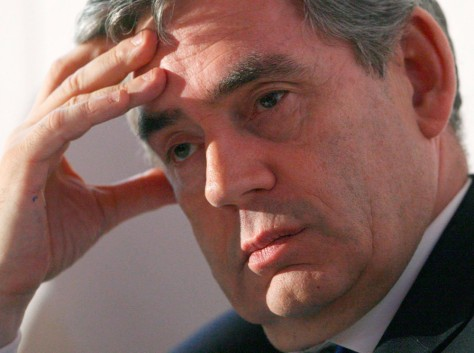 Image: Prime Minister Gordon Brown