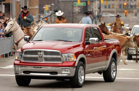 Image: 2009 Dodge Ram pickup truck