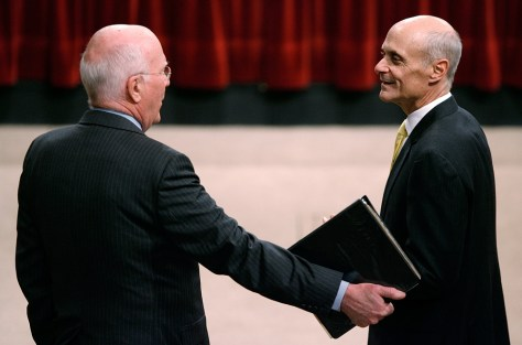 Image: Michael Chertoff and Patrick Leahy