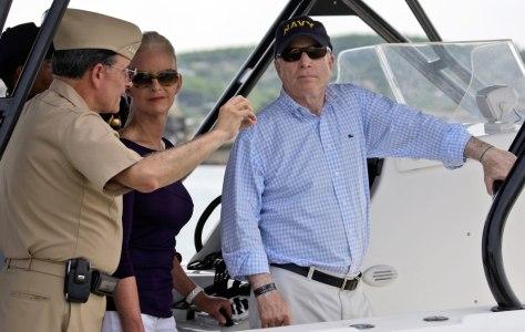 Image: Image: John McCain in Cartagena
