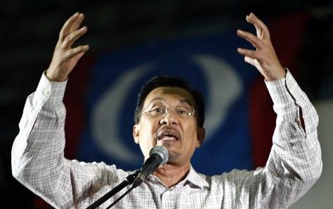 Image: Malaysia's Anwar Ibrahim