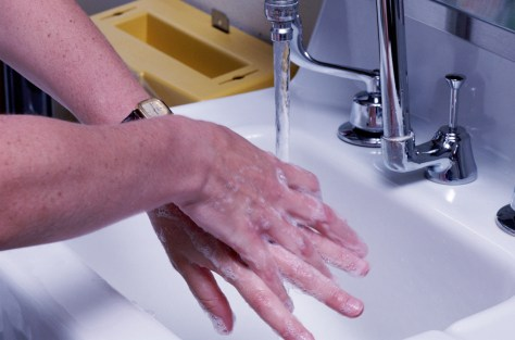 Image: Washing hands