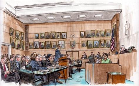 Image: Guantanamo detainee hearing