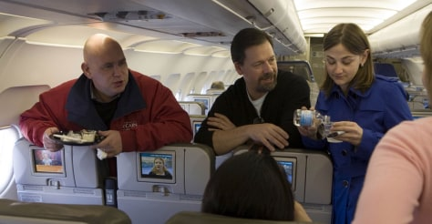 Image: Senator John McCain's staffers Steve Schmidt, Mark Salter and Brooke Buchanan