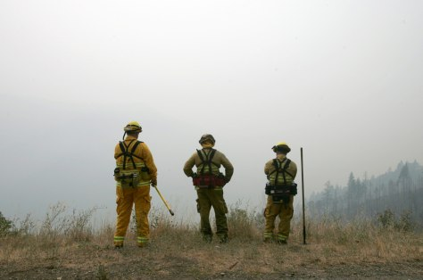 Image: Calif. firefighters