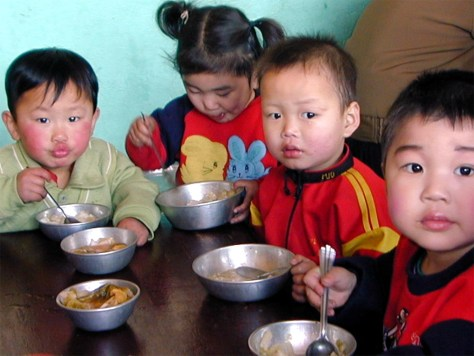 IMAGE: NORTH KOREAN CHILDREN