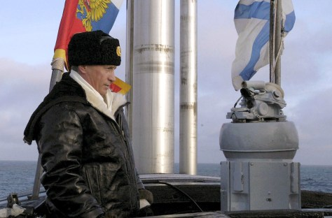 Image: Putin on submarine