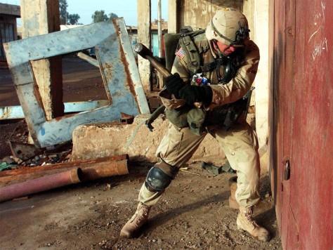 IMAGE: U.S. SOLDIER INSAMARRA RAID