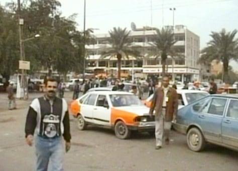 Image: Baghdad ambush scene