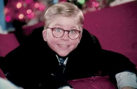 FILE IMAGE OF ACTOR PETER BILLINGSLEY IN SCENE FROM 1983 FILM A CHRISTMAS STORY