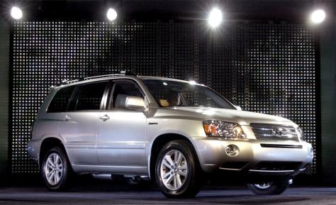 Image: Toyota's new hybrid SUV