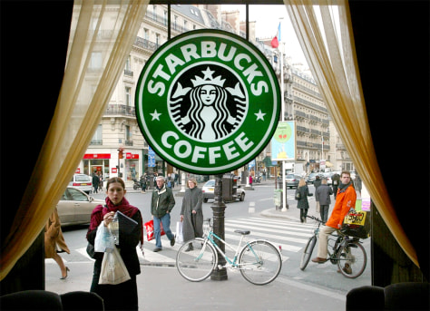 Image: Paris Starbucks store
