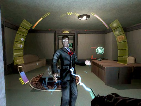 "Stun gun hits lawyer in ""Deus Ex: Invisible War"""