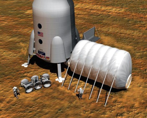 Image: Mars habitat