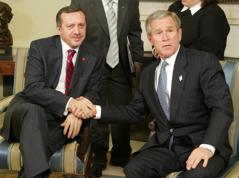 BUSH ERDOGAN