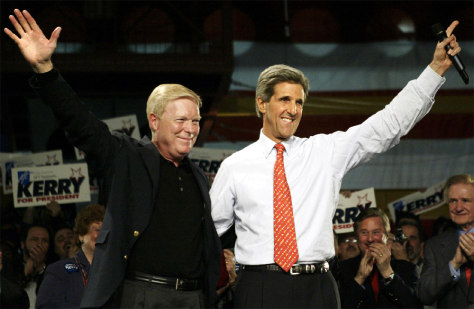 DEMOCRATIC PRESIDENTIAL CANDIDATE JOHN KERRY ENDORSED BY GEPHARDT