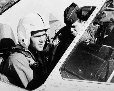 IMAGE: GEORGE W. BUSH IN NATIONAL GUARD JET