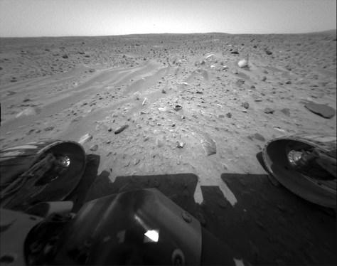 wavy bedform on Mars