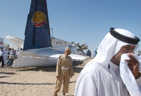 Emirates official with downed Iranian airliner