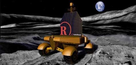 Image: Lunar rover