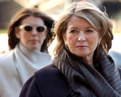 Martha Stewart Trial Continues In New York City