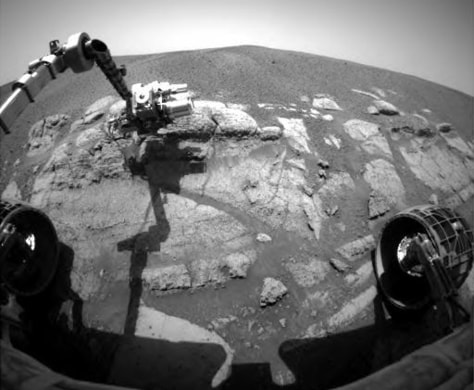 Image: Robotic arm and El Capitan