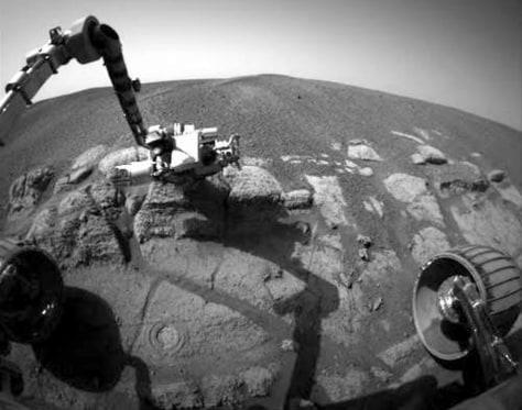Image: Rover at El Capitan