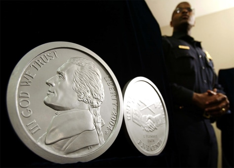 U.S. Nickel Gets A Makeover