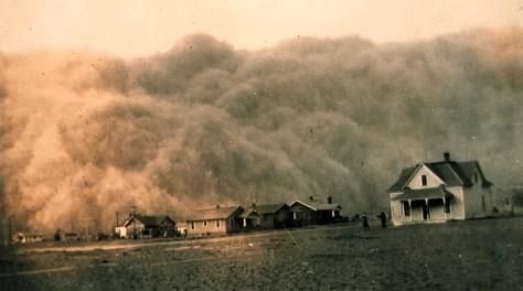 Image: Dust storm