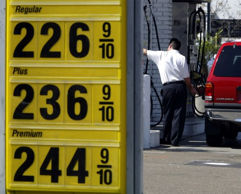 GAS PRICES CONTINUE HIGH LEVELS IN CALIFORNIA