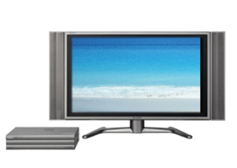 sharp big-screen TV