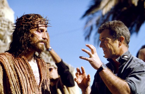 SCENE FROM SET OF NEW FILM THE PASSION OF THE CHRIST
