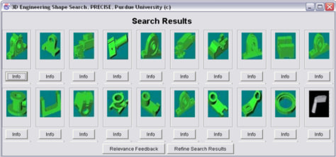 Image: 3-D search engine