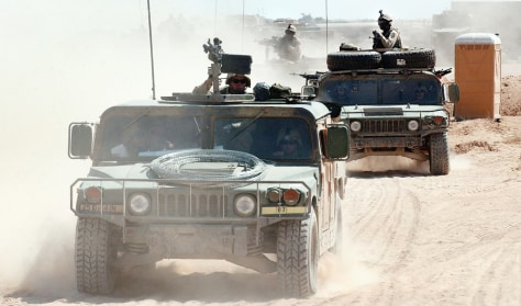 U.S. Troops Prepare for Possible An Najaf Operation