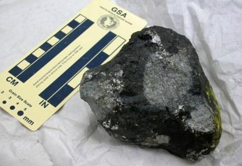 Image: Meteorite fragment