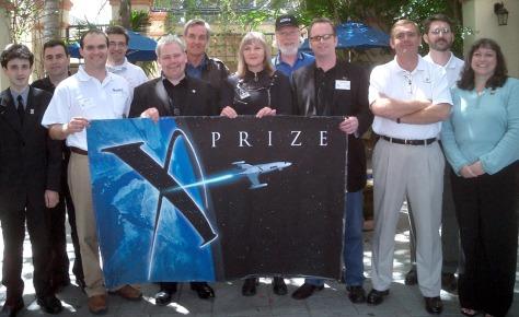 Image: X Prize competitors