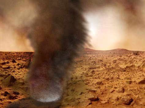 Image: Dust devil