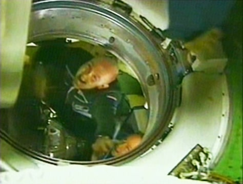 IMAGE: Astronaut Andre Kuipers