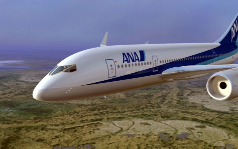 All Nippon Orders New Boeing Jet