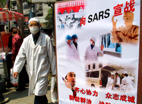CHINA-HEALTH-SARS