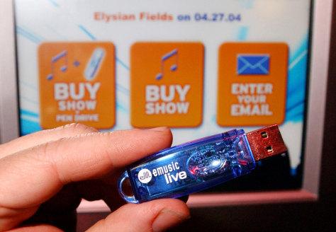 Image: eMusicLive USB pen drive