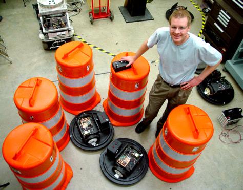 Image: Robotic barrels