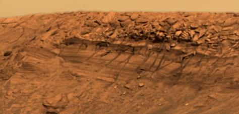 Image: Detail from Endurance Crater