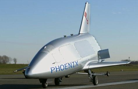 EADS Phoenix Rollversuch Runway