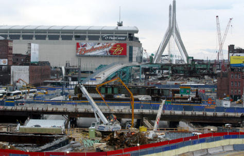 Construction Surrounds DNC Site In Boston